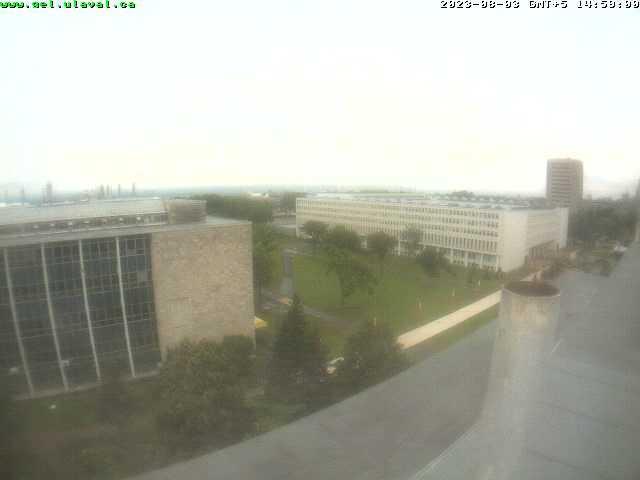 Camera on-line instalada na universidade